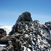 Das letzte Stück auf dem Grat mit dem Gipfelaufbau des Krönten 3108m.