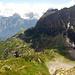 Tiefblick zum Obersse und zur Kröntenhütte. Ganz vorne, noch nicht sichtbar, unser Ziel Erstfeld…