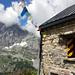Kröntenhütte mit Blick Richtung Schlossberg.