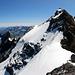 Blick vom Vorgipfel zurück zum Clariden 3267m