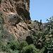 Unterwegs in den Los Cahorros de Monachil (Hinweg) - Ausblick.