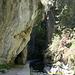 Unterwegs in den Los Cahorros de Monachil (Rückweg) - Gleich geht es wieder durch den Túnel de las Palomas (Tunnel der Tauben).