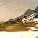 Obere Lechleitner Alpe mit Mutzenkopf (1887m)