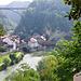 Unten bei der Bernbrücke mündet Le Gotteron in die Saane. Ab hier ist aber am Fluss kein Durchkommen Richtung Hauterive.