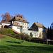 17. November: die Gästehäuser des Klosters
