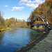 17. November: Brücke über den Kanal beim Kraftwerk
