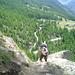 Christoph im Zustieg zum Almagella-Erlebnisweg