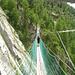 Die Hängebrücken im Almagella-Erlebnisweg muss man mögen. Ich mochte sie nicht, und war jedes mal froh, wenn ich wieder runter war ... :-)