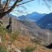 Alpe Travello, Blick in den Talboden des Valle Vigezzo