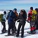 Unsere Gruppe von der SAC Sektion Lägern auf dem Chaiserstuel