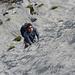 Sebi im Meer des Schrattenkalkfels - Bützi, Stockflue und klettern an der Hochflue