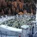 Schön zu tutti santi  geschmückter Friedhof