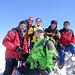 In vetta al Mont Blanc de Cheilon.