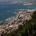 Gibraltar - Unterwegs zwischen O'Hara's Battery und St. Michael's Cave. Ausblick in nordwestliche Richtung.