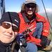 Rolf und ich am Gipfel der Schöntalspitze.