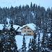 Lindauerhütte, eingebettet im Wald