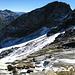 """Der Rest des Gletschers, der Duan Gletscher. Eine """"Letztbegehung"""". In einigen Jahren wird dieser Gletscher völlig verschwunden sein..."""