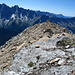 Der Gipfel des Piz Duan 3131m