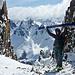 oben sein = high sein und das in Patagonien!