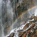 ein schöner Wasserfallbogen