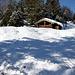 Hier biegt der ruhige Steig zum Kranzberg nach rechts ab. Da wären Schneeschuhe angesagt, da man bis zu einem dreiviertel Meter in Bruchharsch einbricht.  Und wo sind meine Schneeschuhe ... im Auto