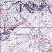Kilometro Verticale, rappresentazione cartografica.