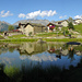 Kilometro Verticale. La meravigliosa località di Lagünc, posta alla fine delle fatiche. (Resta però pur sempre la discesa...).