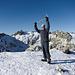 En la Cumbre del Morezón (2392 mts)