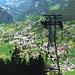 Auffahrt mit der Pfingsteggbahn von Grindelwald