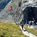 Kunst am Berg - oder was so ein Bergsturz alles hinterlässt.