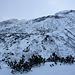 Gegen den Muccia hinauf muss man den Schnee suchen