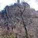 Il castello di Baradello da Respaù di sotto.
