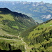 Vue sur le Simmental et la chaîne du Stockhorn