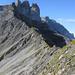 Der Madgrat vom Mittetaghorn gesehen