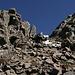 Im Aufstieg zum Mount Sneffels - In den südlichen Flanken des Mount Sneffels.