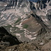 Im Abstieg vom Mount Sneffels - In den südlichen Bergflanken.