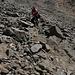 Im Abstieg vom Mount Sneffels - Rückblick während des Abstiegs vom Lavender Col ins Yankee Boy Basin.
