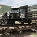 """Nach der Tour (15.07.2009) - Auf der Weiterreise von Ouray nach Moab. Zwischenstopp im Ridgeway Railroad Museum. Hier ein Nachbau des Triebwagens """"RGS No. 1"""" - auf Basis eines Buick (gleicher Typ/gleiches Baujahr wie beim Original)."""