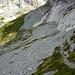 Das schattige Geröllkar auf der Nordseite des Rosenlauistocks Blickrichtung: zum Ochsental). <br />So betrachtet der ödeste Teil der Wanderung - wechselt man jedoch die Perspektive ...