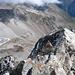 Gipfelblick hinunter zur Kaunergrathütte und ins Pitztal