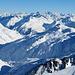 Gipfelpanorama Stotzig Muttenhorn - Blick nach Osten