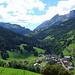 Blick in Richtung Col de la Columbiere. Ich war schon hier im Eimer,aber noch lange nicht da...