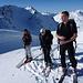 Fast am Gipfel und an der Grenze zum Vorarlberg