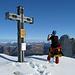 Aber auch der Blick zum karnischen Höhenweg ist einmalig (rechts der Einserkofel mit dem damals noch ganz frischen Bergsturz).