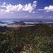 Blick vom Boggy Peak Richtung Five Islands