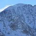 Vom Winde verwehter Schnee am Mont Blanc de Cheilon