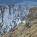 Alp Curtet depuis la Bochetta di Saler avec un peu de neige