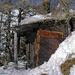 Jägerhüttli, auf  2175 m. Schöner  Restplatz