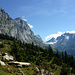 Unterwegs in einer grandiosen Berglandschaft