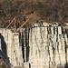 Der Granit-Steinbruch von Lodrino und darüber  San Martino / Pai